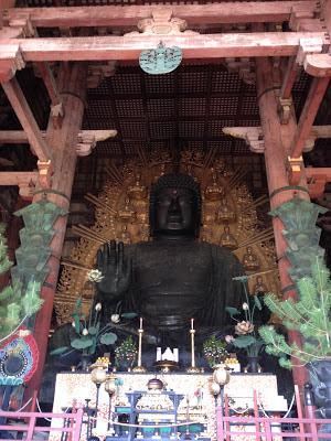 il gigantesco Buddha