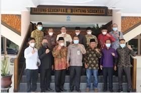 DPRD Muaro Jambi Kunker Ke Kabupaten Pelalawan Riau Bahas Ranperda insentif Dewan