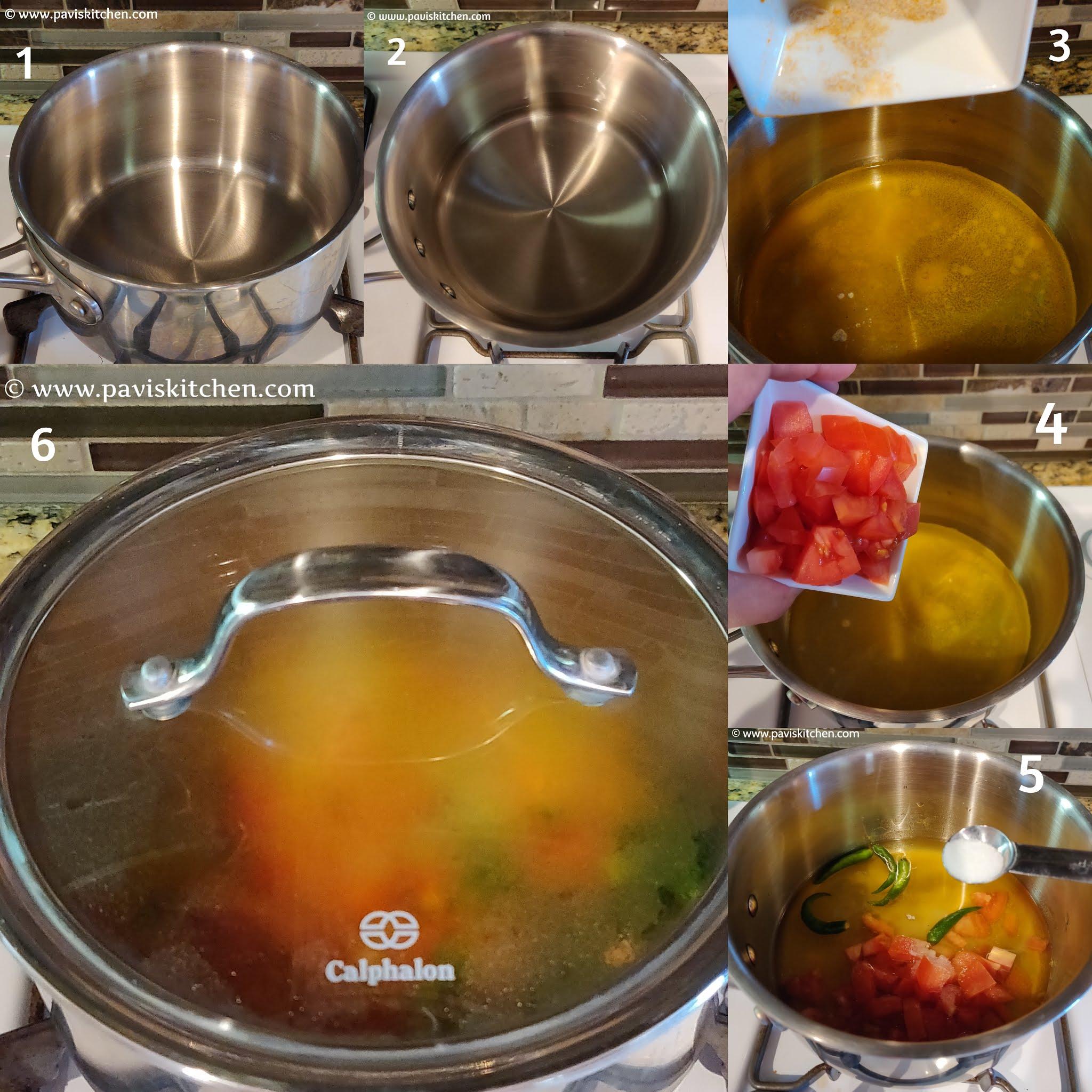 Lemon Rasam Recipe | Lemon Dal Rasam | Nimbe Saaru