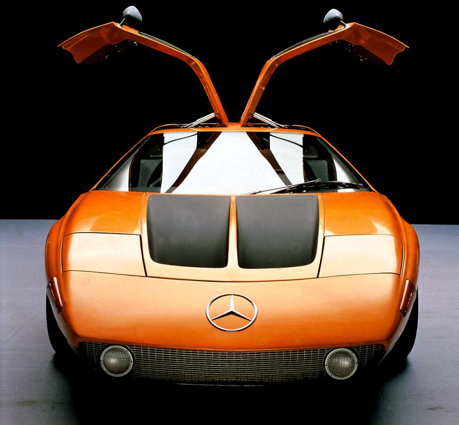 Jake's Mercedes-Benz World: 1969 Mercedes-Benz C111-1 Gullwing