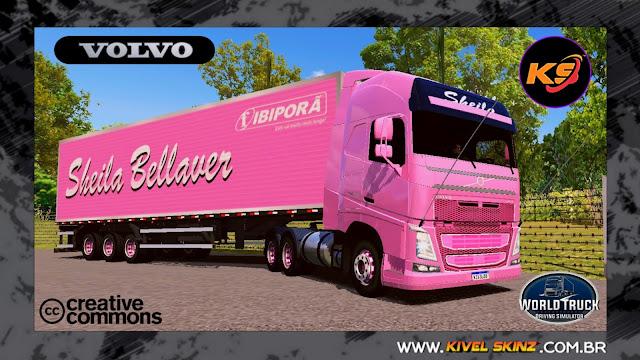 VOLVO FH16 - PINK SHOW DA SHEILA BELLAVER