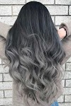 I like the milky gray hair color, come to a group of such long hair styles today! I hope you will like it!