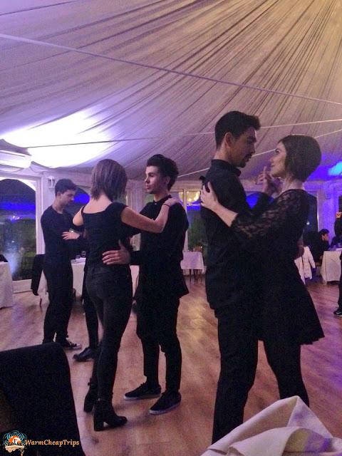 teatro danza, nero, #nerodinnershow, la muratella, borgo la muratella bergamo, gisella zilembo, eventi danza