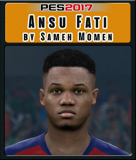 PES 2017 Faces Ansu Fati by Sameh Momen