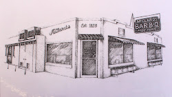 drawing restaurant line menu bbq draw springs food 1600 getdrawings side travel