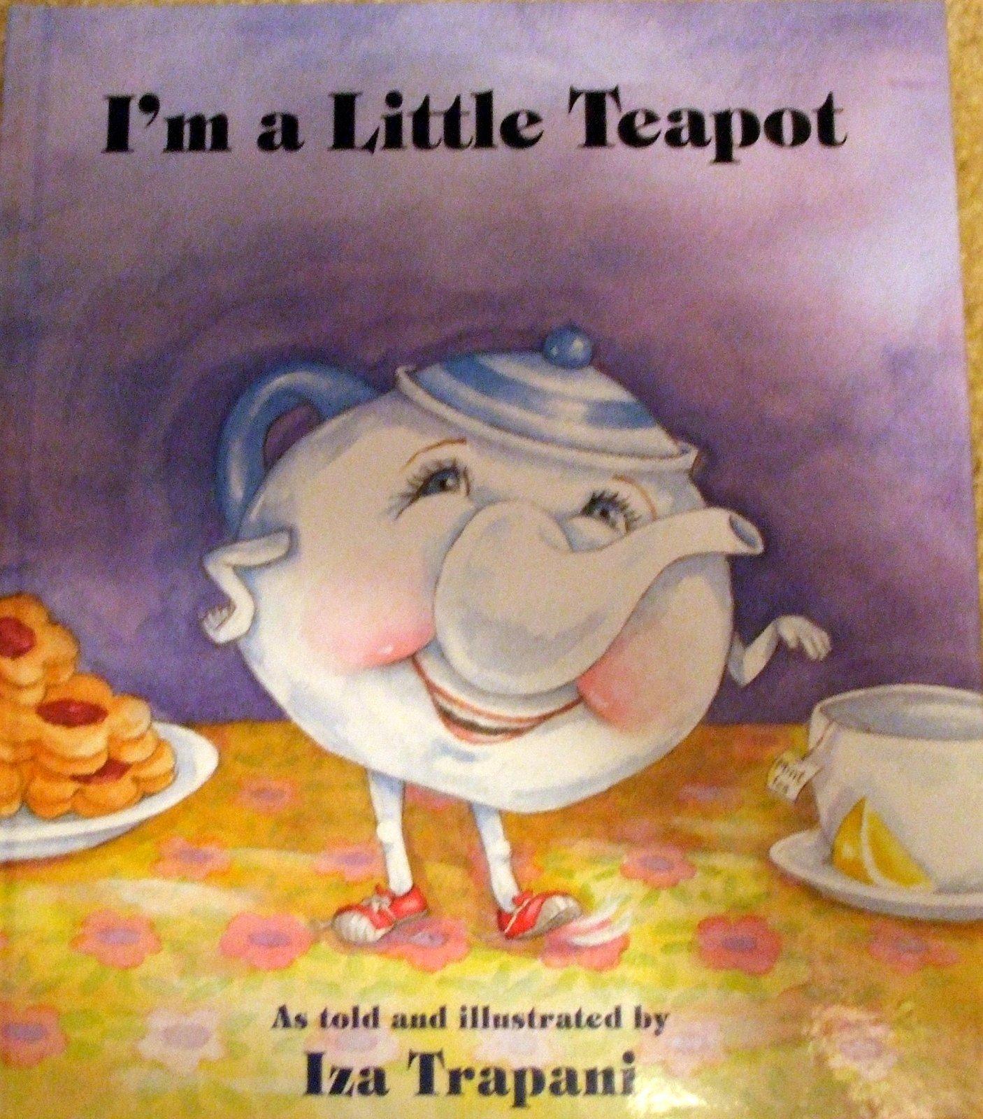Rosemary S Sampler I M A Little Teapot