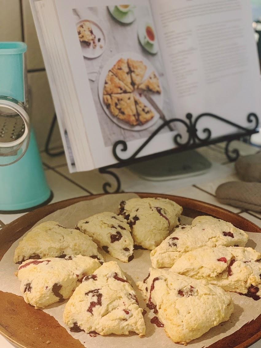 Recipe: Fresh Blueberry Scones