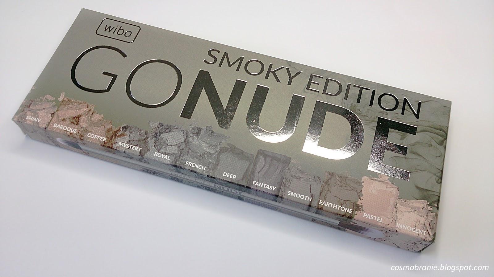 WIBO GO NUDE SMOKY EDITION - SWATCHE | Pata bloguje
