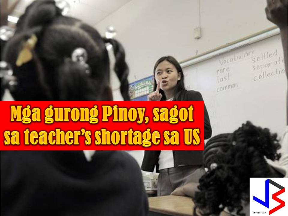 Filipino teachers are still in-demand in some countries in the world, especially in the United States, since the country is combating the worsening teacher shortage crisis.  The NBC News reported that this school year, over 81 teachers from the Philippines is now in Clark County school district. The Clark County has the jurisdiction over almost all public schools in Las Vegas.  These teachers are hired to combat the pressing shortage of special education teachers.