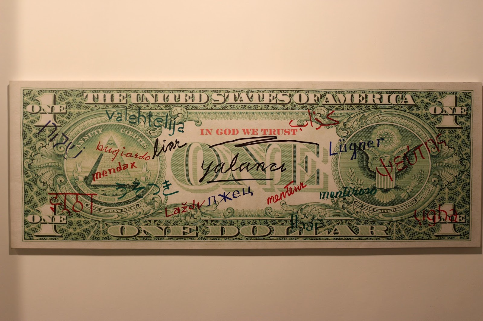 ABD doları kim resmedilir: ilginç gerçekler
