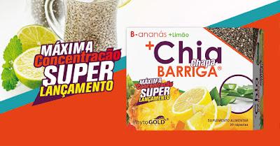 B-Ananás + Limão + CHIA Chapa Barriga