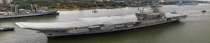India's First Indigenous Aircraft Carrier Vikrant Returns After Successful Maiden Voyage
