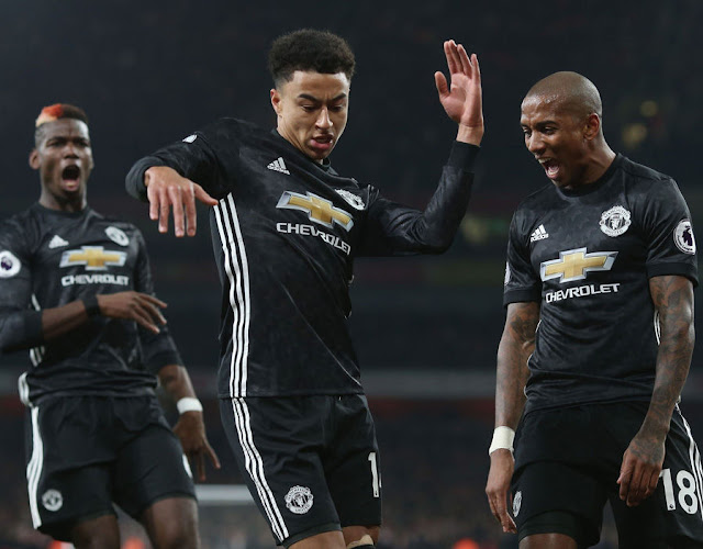 MANCHESTER UNITED did Pep Guardiola a favour by beating Arsenal