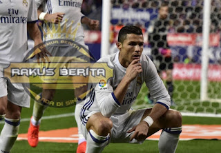 """Selebrasi Ronaldo """"Like A Boss"""" Habis Kalahkan Atletico Madrid"""