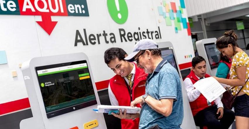 SUNARP: Alerta Registral suma más de 17 mil nuevos usuarios en lo que va del 2021 - www.sunarp.gob.pe