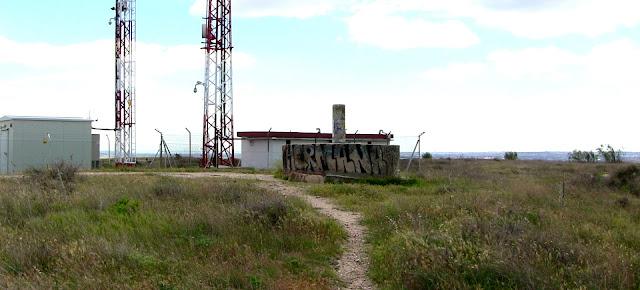 Vértice geodésico del Cerro Almodóvar