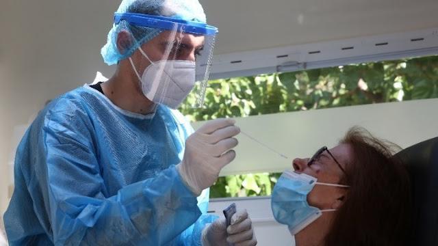 Rapid test από την ΚΟΜΥ Αργολίδας στο Ανυφί μετά από θετικό κρούσμα κορωνοϊού