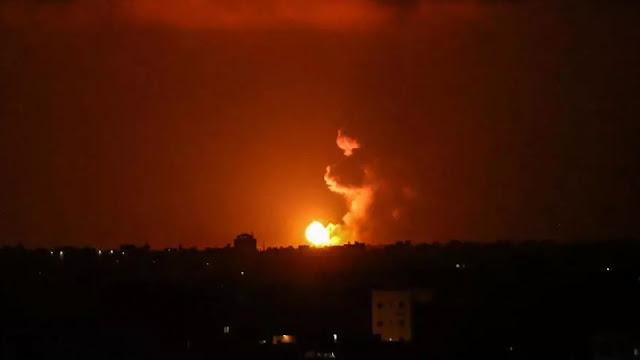Hamas: Israeli air attack a children's hospital in Gaza Strip