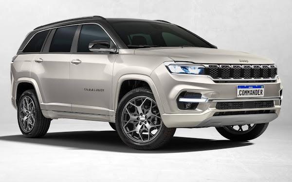 Jeep® inicia pré-venda do Commander na quinta-feira (26/08)