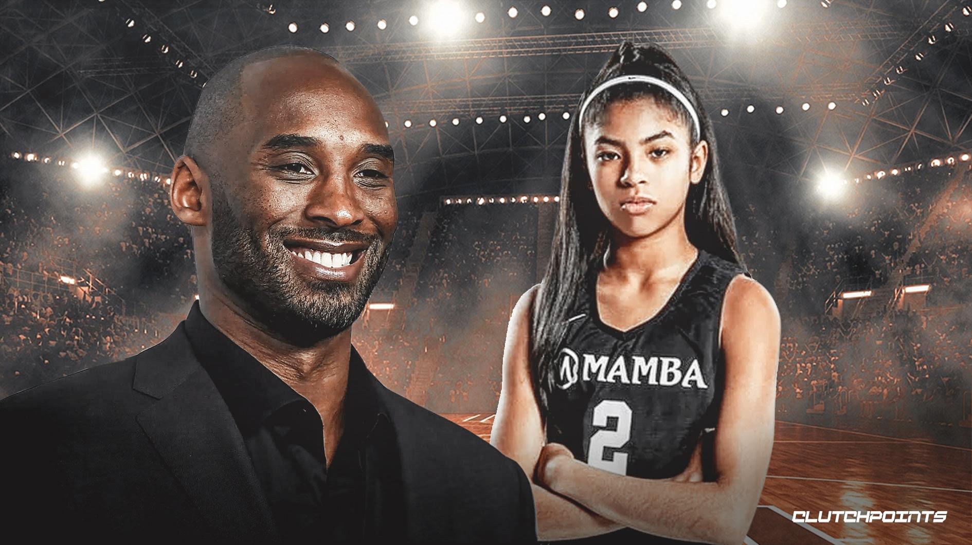 Gigi hija de Kobe Bryant