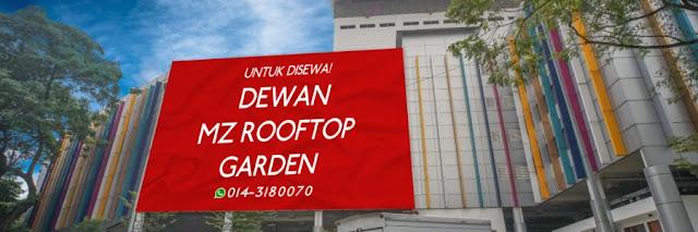 Jom ke MZ Rooftop Garden Grand Opening di Parkirg Bertingkat DBKL Taman Segar Cheras