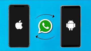 طريقة نقل الملفات من هاتف الأندرويد إلى الآيفون باستخدام SHAREit