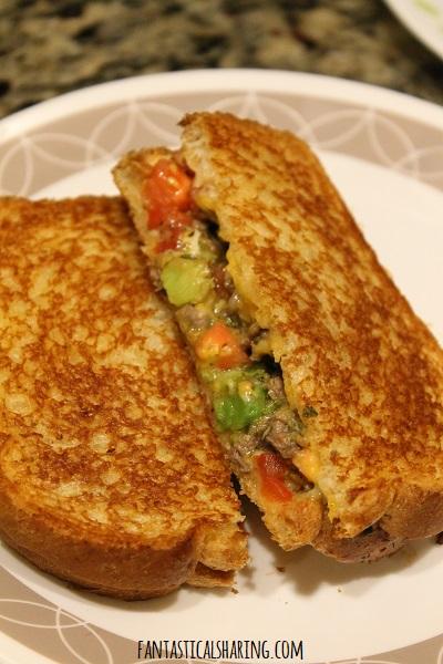 Carne Asada Melts #recipe #sandwich #beef #carneasada