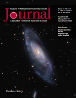 cover of the Aug 2020 RASC Journal