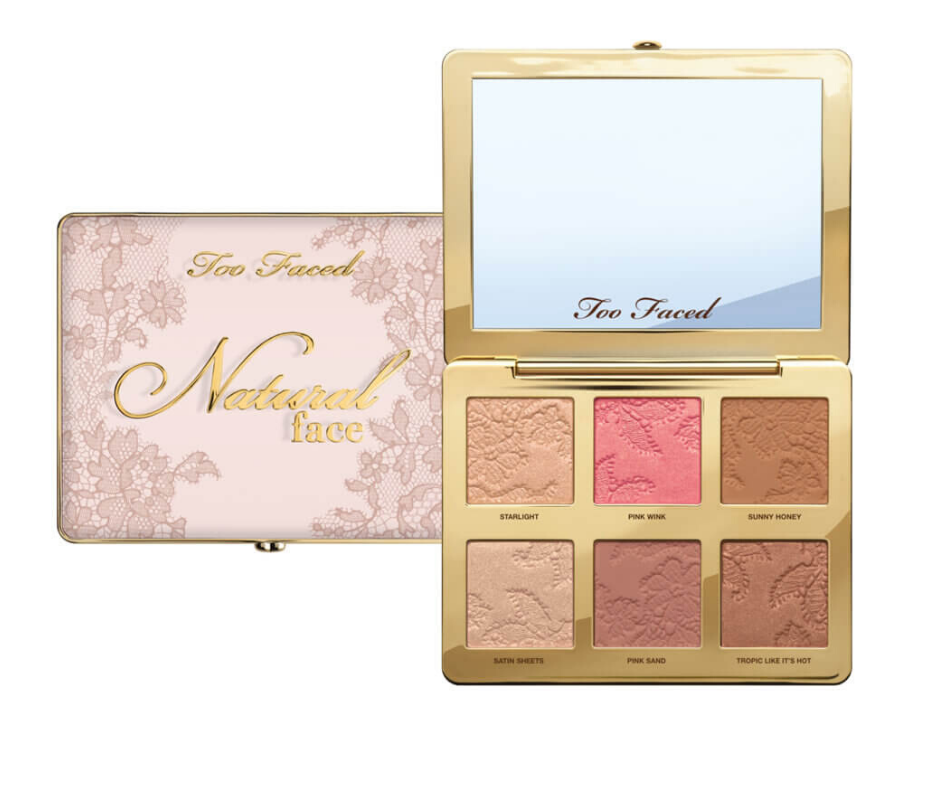 too faced natural face paleta recenzija