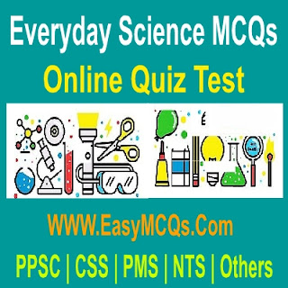 Solved Question Answers FPSC Everyday Science Test Learn Online
