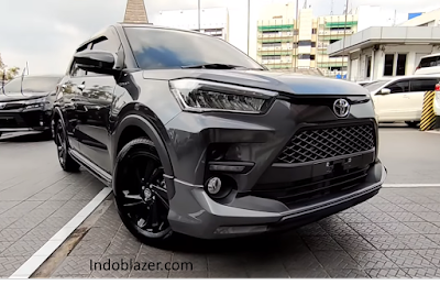 Skema kredit Toyota Raize terbaru.