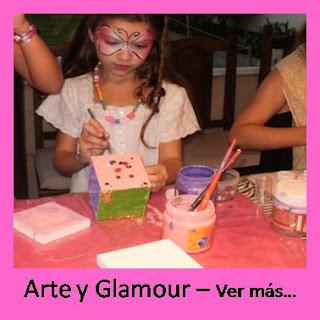 animacion de cumpleaños para nenas arte taller
