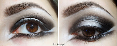 gothic,dark,smokey eyes