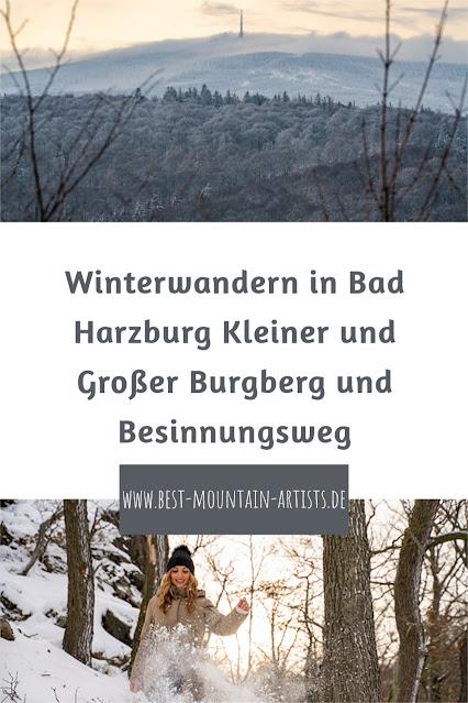 Winterwandern in Bad Harzburg | Kleiner und Großer Burgberg und Besinnungsweg | Baumschwebebahn | Wandern im Harz 31