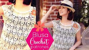 Blusa delicada  tejida a crochet | Patrones