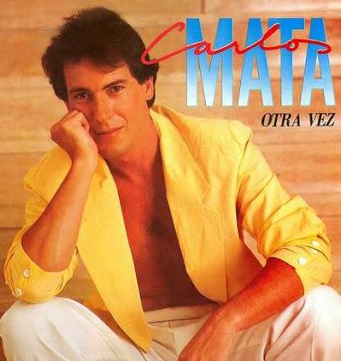 Foto de Carlos Mata en portada de disco