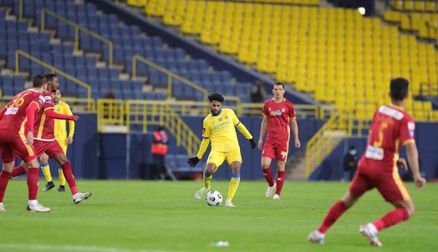 ملخص مباراة النصر وضمك (2-2) اليوم في الدوري السعودي