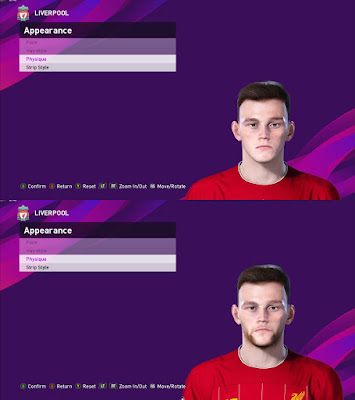 PES 2020 Faces Andrew Robertson by Davidjm08