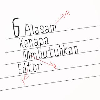 alasan membutuhkan jasa editor