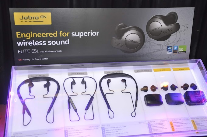 Jabra brings four latest additions to the Elite family of headphonesand earbuds to the Philippines