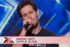 Vincent Leoty X factor 2011