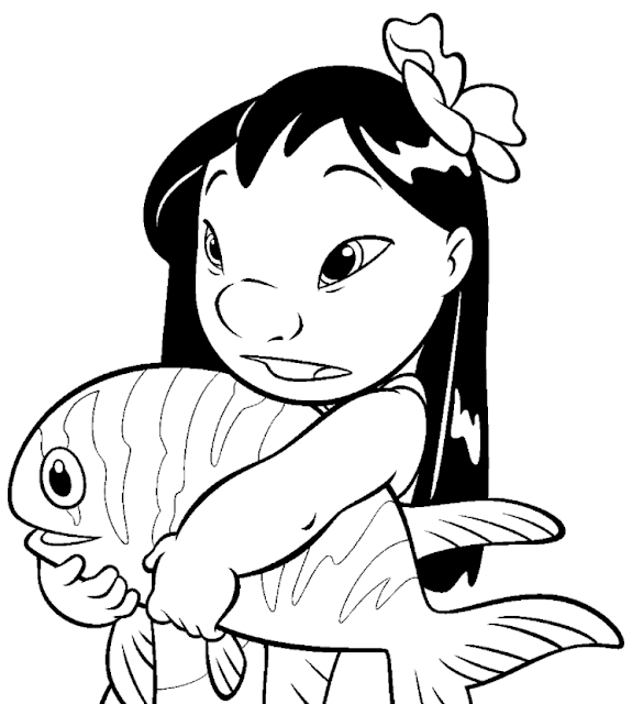 Lilo and Stich coloring pages coloring.filminspector.com