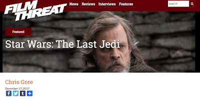Film Threat Chris Gore Review of the Last Jedi