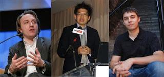 Youtube dibangun oleh 3 pemuda mantan karyawan Paypal dengan modal dan bonus dari pengakuisisian perusahaan tempat mereka berkerja.