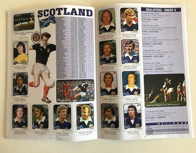 Figurine Scozia Euro 76