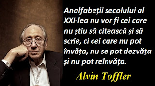 Maxima zilei: 4 octombrie - Alvin Toffler