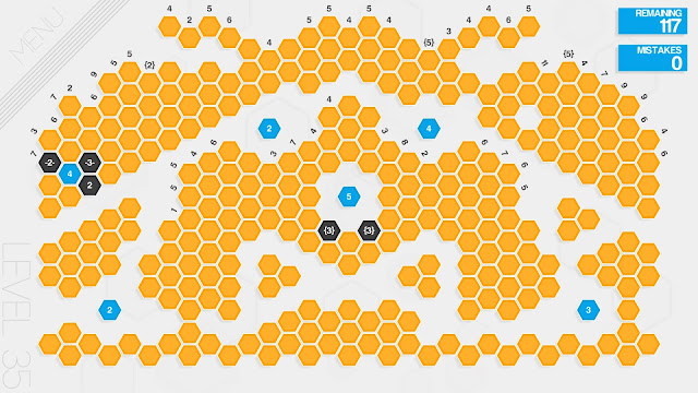 Screenshot from Hexcells Plus
