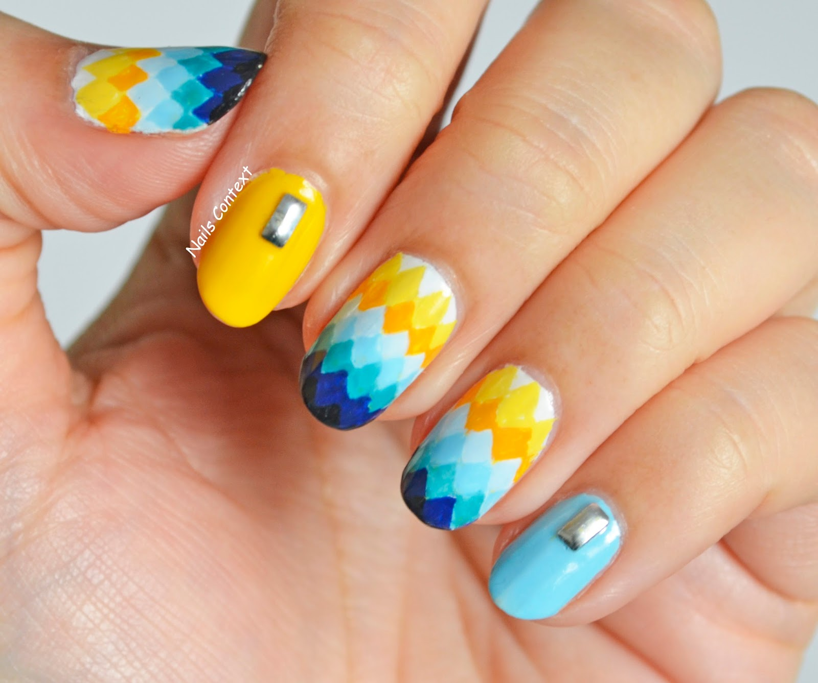 Nails Context Ombre Diamonds
