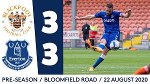 Video Blackpool 3-3 Everton: Giao hữu