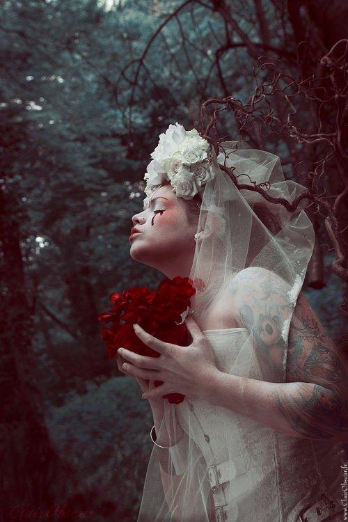 Stéphanie Pitino ClairObscur deviantart fotografia mulheres fantasia dark sombria beleza